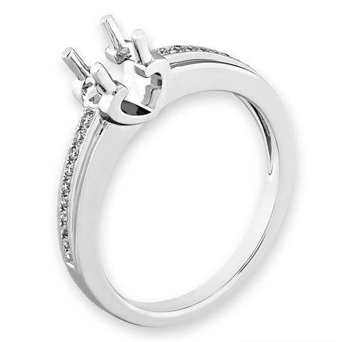 Semi-Mount Simple Engagement Ring L02184R