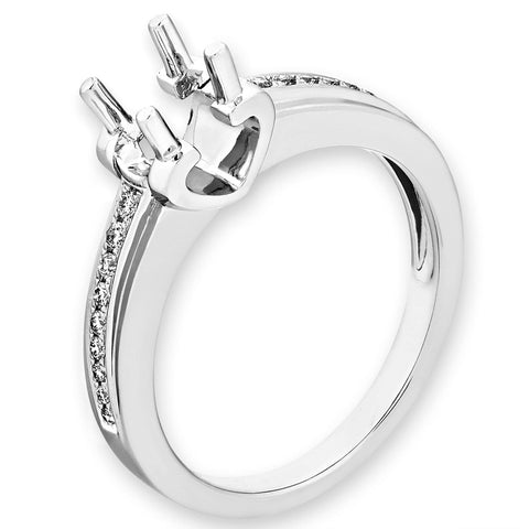 Semi-Mount Simple Engagement Ring L02185R