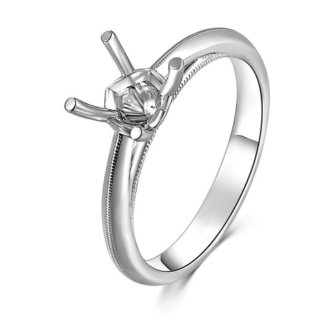 Solitaire Semi-Mount Ring F07335R