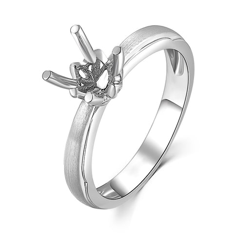 Semi-Mount Solitaire Ring S09897R
