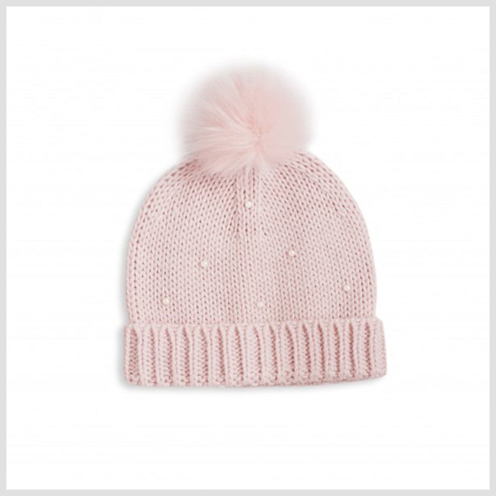 Pearl Scatter Bobble Hat