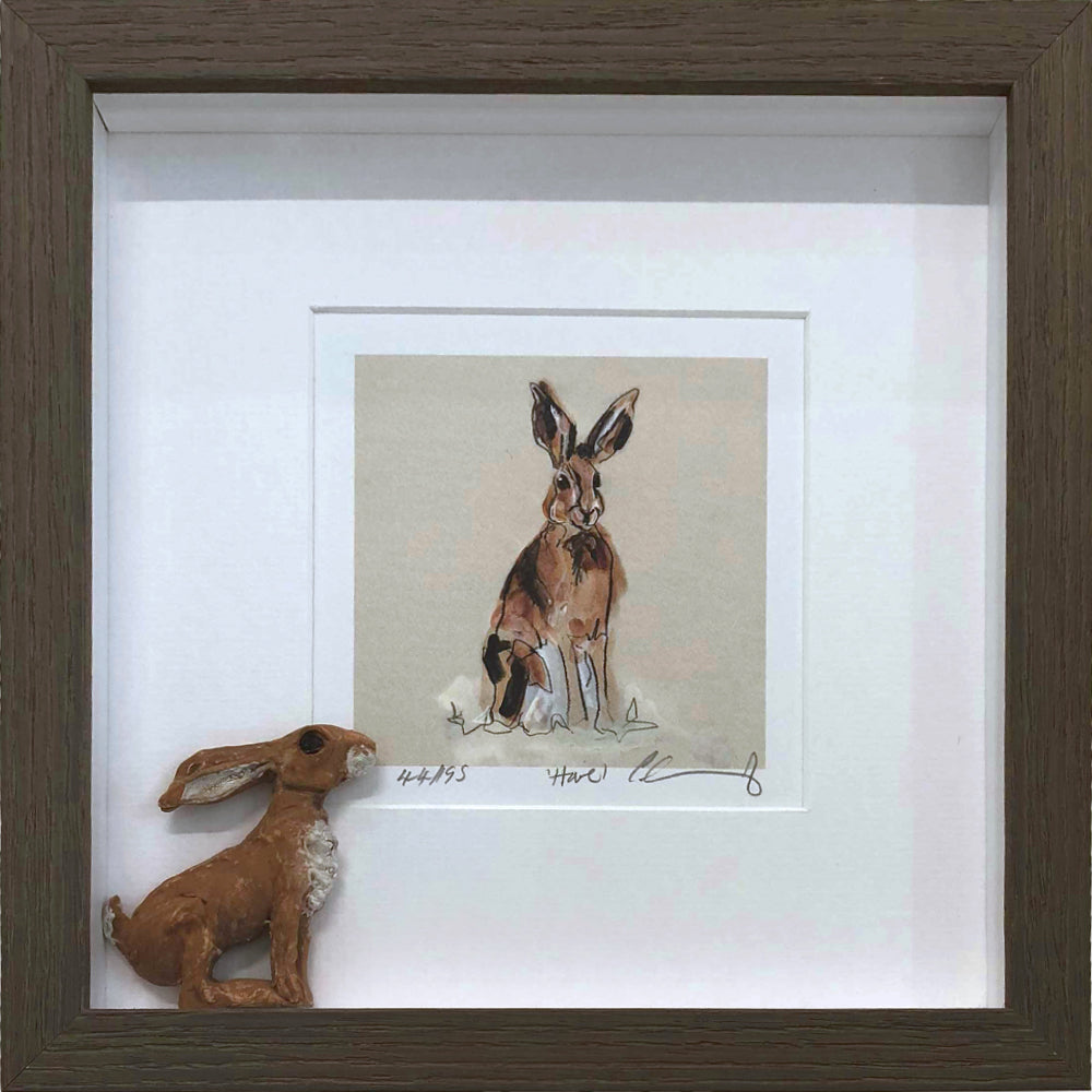 Framed Limited Edition Pastel Print