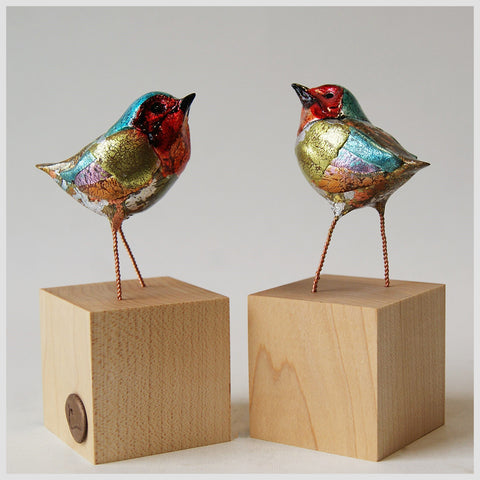 Twin Tweet Sculpture