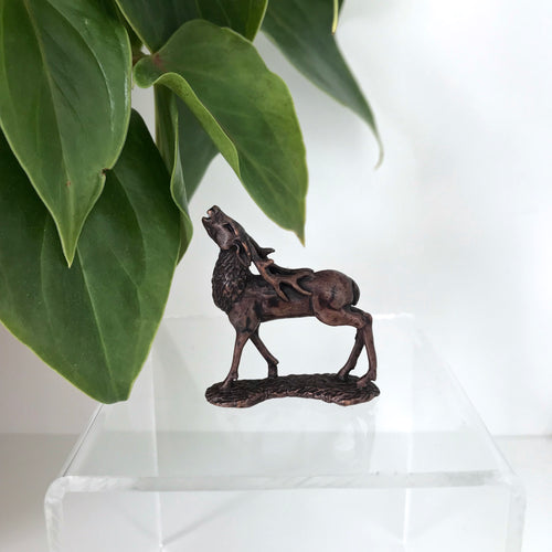 Miniature Bronze Sculpture