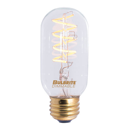 Curved LED Filament Bulb 4W