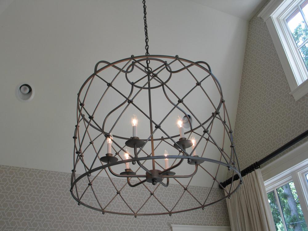 Bakers Cage - Pendant - Tower Lighting