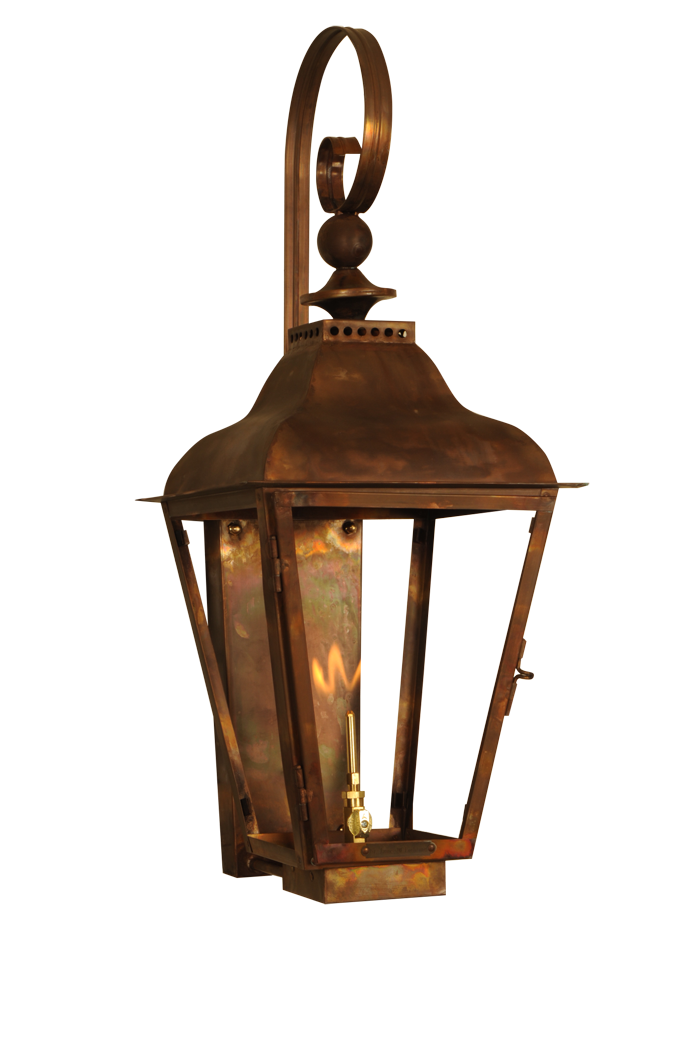 Breckenridge Copper Lantern