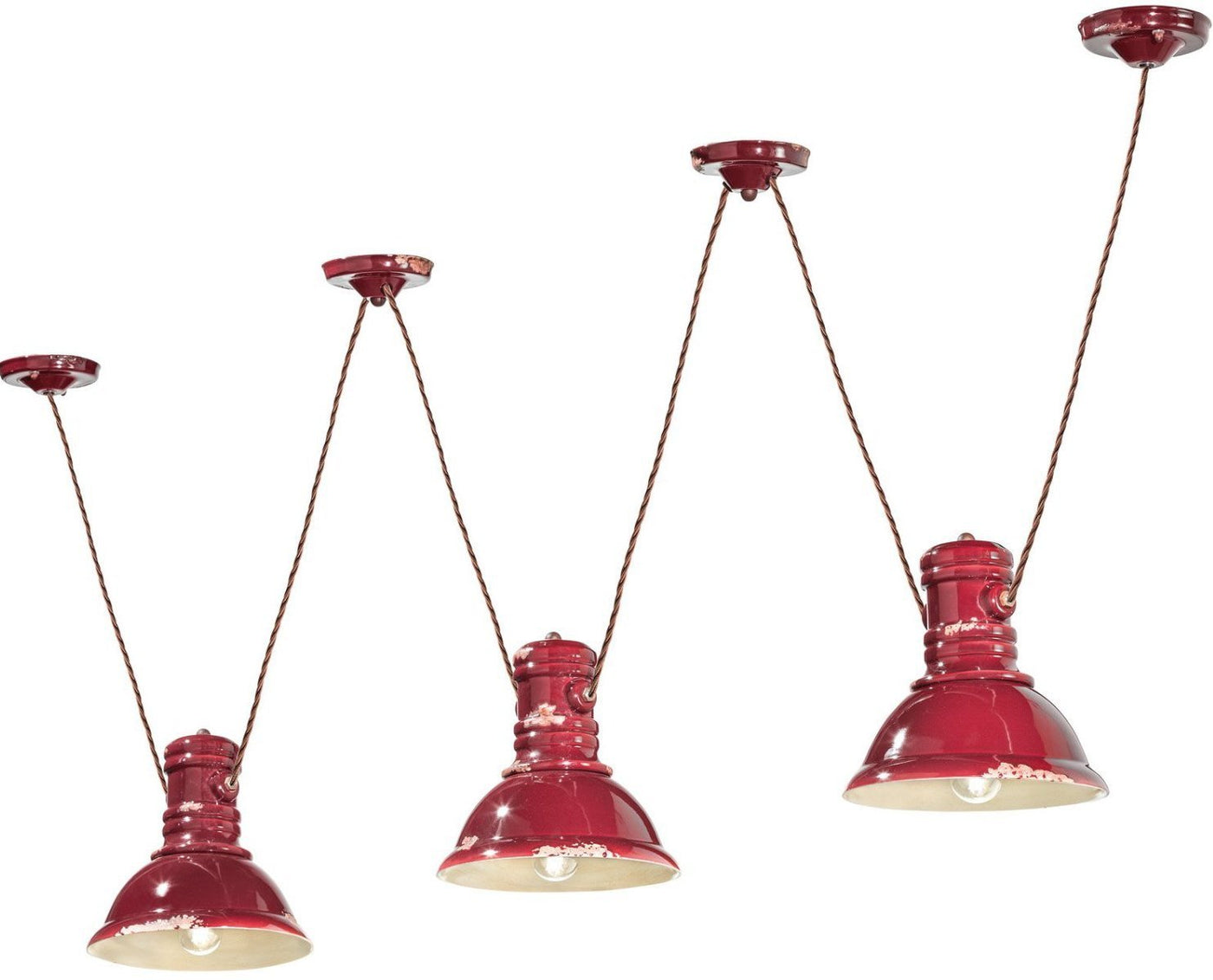 C1692 Industrial 3-light pendant