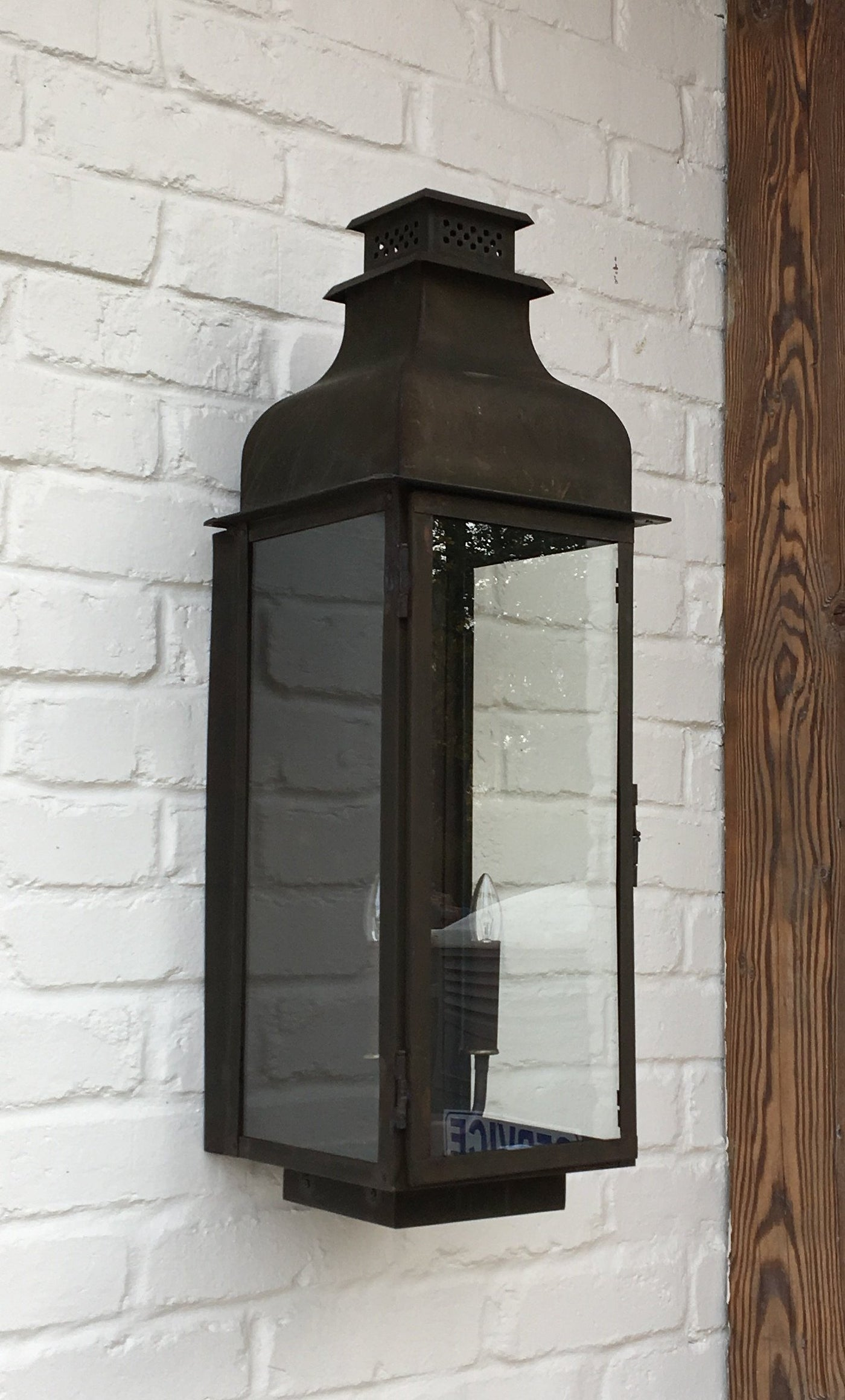 Sawyer Copper Lantern