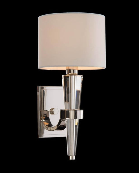 Cone Crystal Sconce