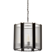 Glass Drum Pendant - DISPLAY SALE
