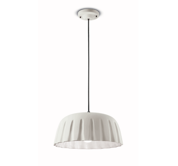 C2570 Decò Gres - BIG Natural White - Pendant - Ferroluce