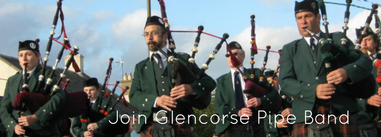 Join Glencorse Pipe Band