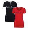 Danger Zone Ladies T-Shirt