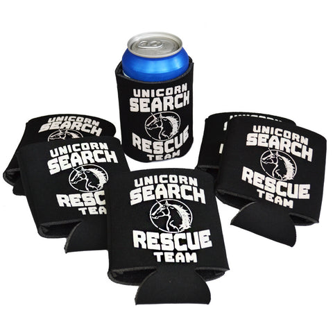 Unicorn Search and Rescue Team Koozie