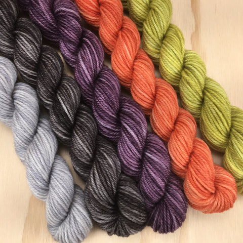 Wellspring Catkin Mini Skein Bundle - Howl