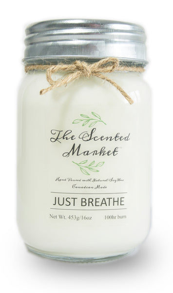 Candle - Large (16 oz) - Just Breathe