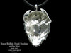 Buffalo Bison Head Pendant Necklace Sterling Silver