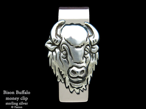 Bison Buffalo Money Clip
