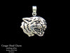 Cougar Charm Necklace sterling silver