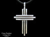 Cross pendant Necklace sterling silver