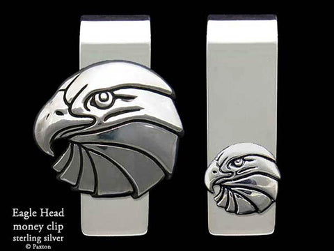Eagle Head Money Clip