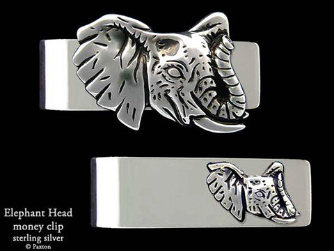 Elephant Head Money Clip
