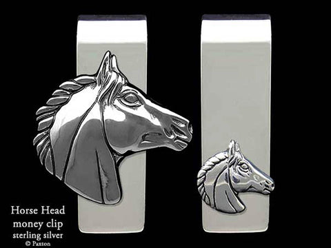 Horse Head Money Clip