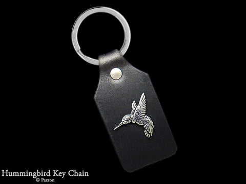Hummingbird Key Chain Sterling Silver
