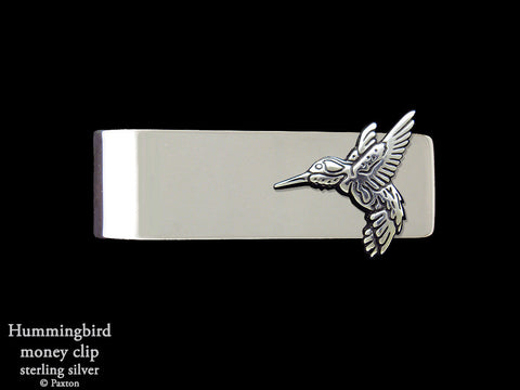 Hummingbird Money Clip