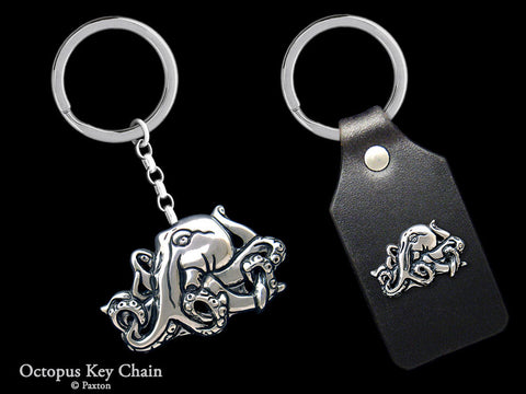 Bat Key Chain Sterling Silver