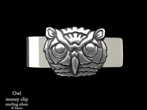 Owl Head Money Clip
