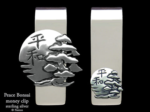 Peace Bonsai Money Clip