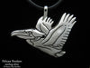 Pelican Pendant Necklace sterling silver