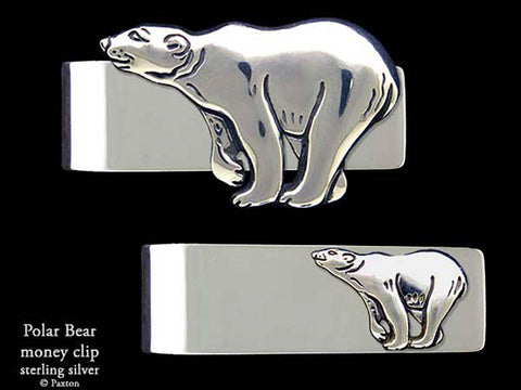 Polar Bear Money Clip