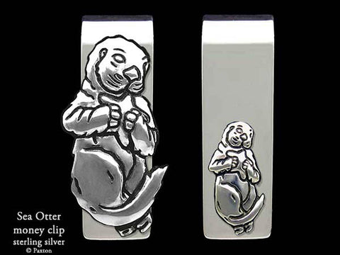 Sea Otter Money Clip