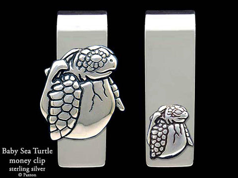 Baby Sea Turtle Money Clip
