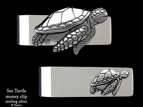 Sea Turtle Money Clip