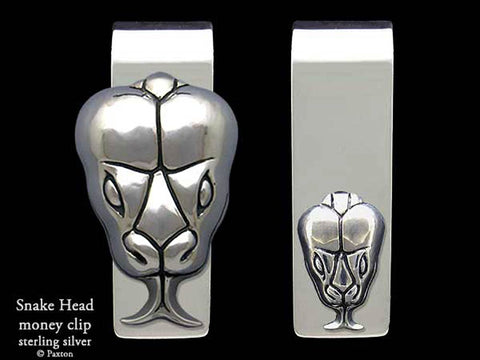 Snake Head Money Clip
