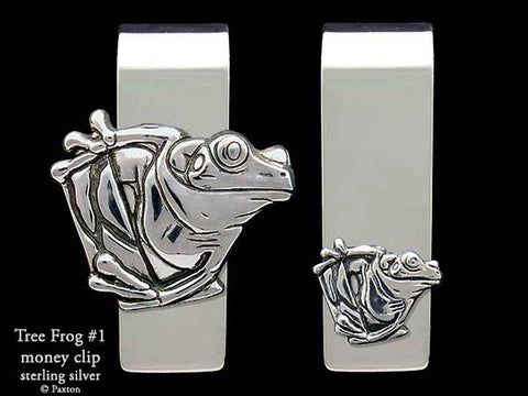 Tree Frog Money Clip