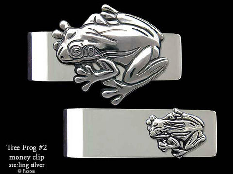 Tree Frog #2 Money Clip