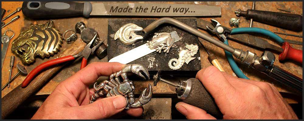 Made the hard way... by hand