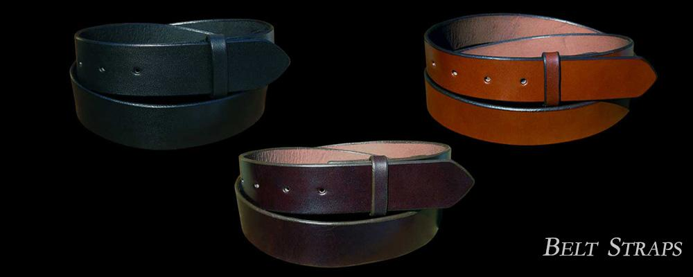 Genuine Leather Handmade Belt Straps by paxton