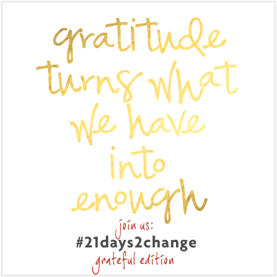 21 reasons to keep a gratitude journal