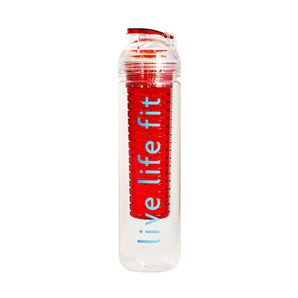 fitfuser: water bottle with infuser