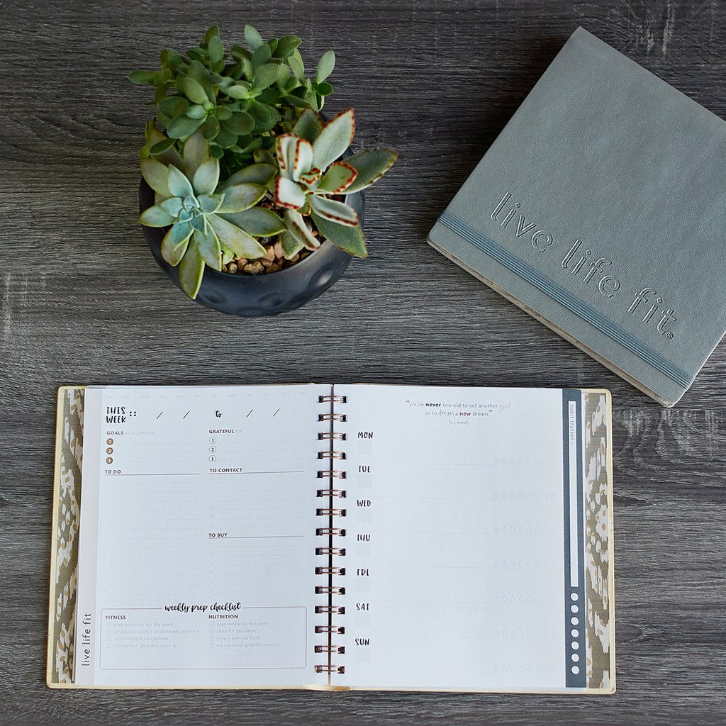 weekly fitspiration planner [casepacks]