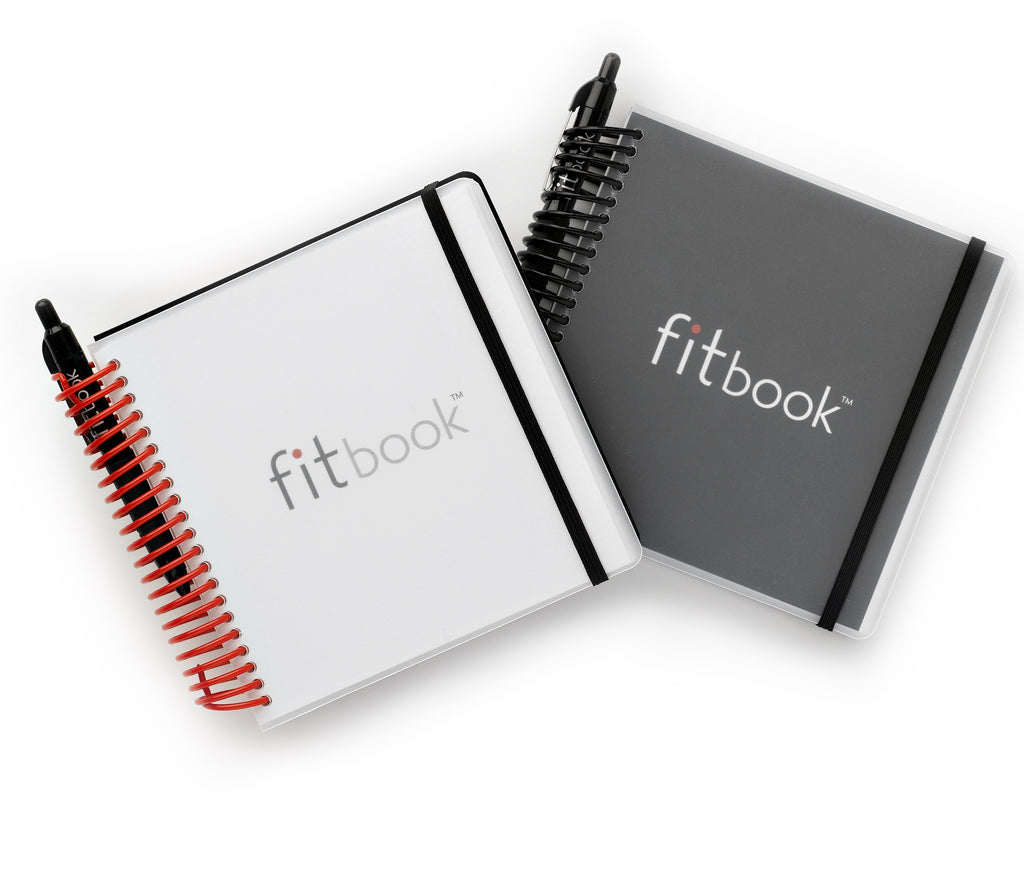 fitbook: 12-week fitness + nutrition journal [casepack of 24]