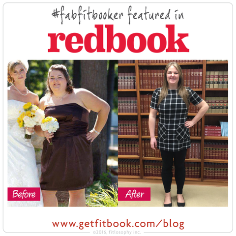 #fabfitbooker cory: 100 lbs down leads to magazine debut