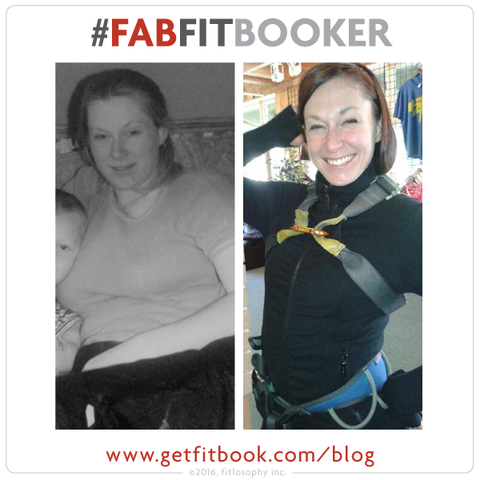 #fabfitbooker arlene: how a single mom got her groove back