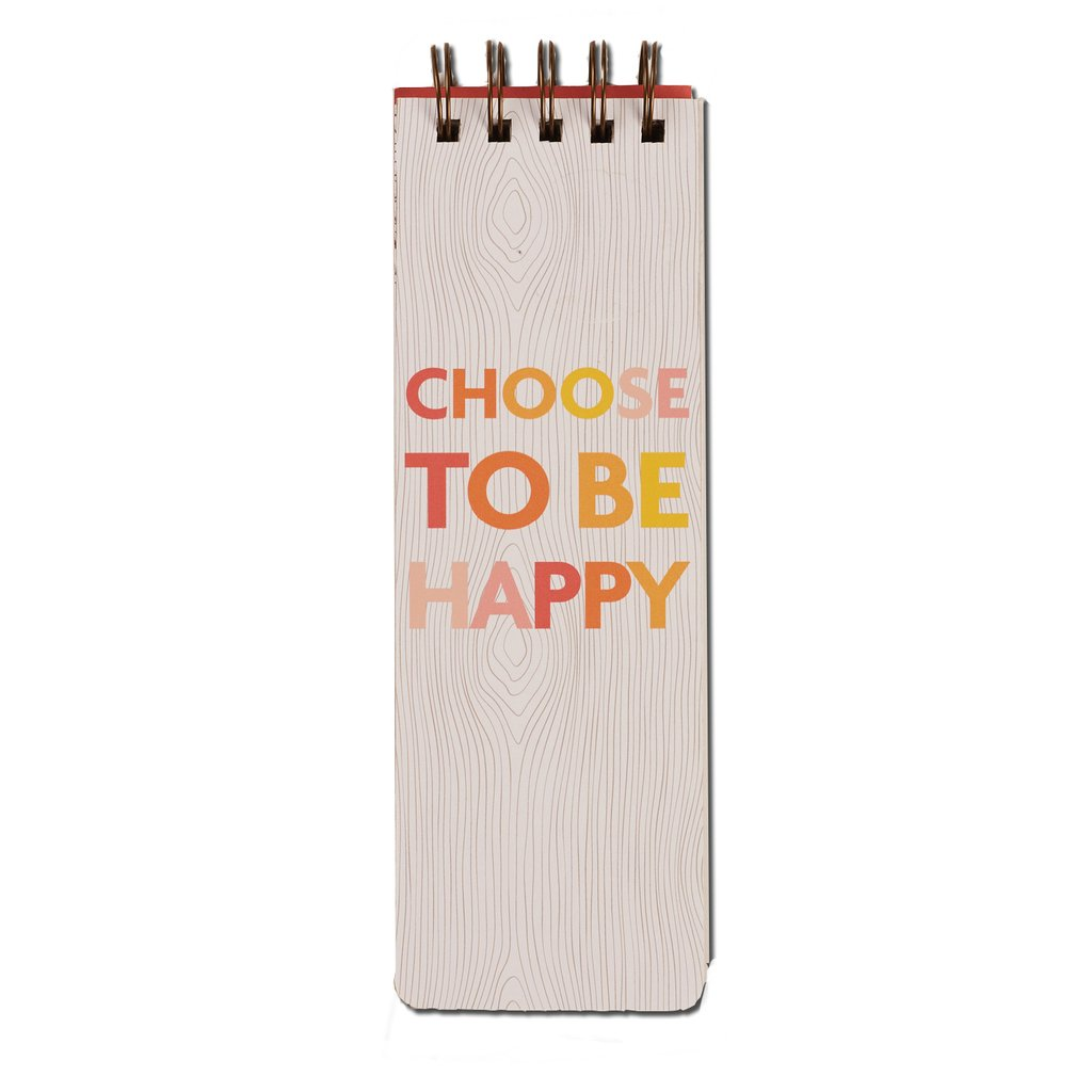 choose to be happy: daily to-do jotter [casepacks]